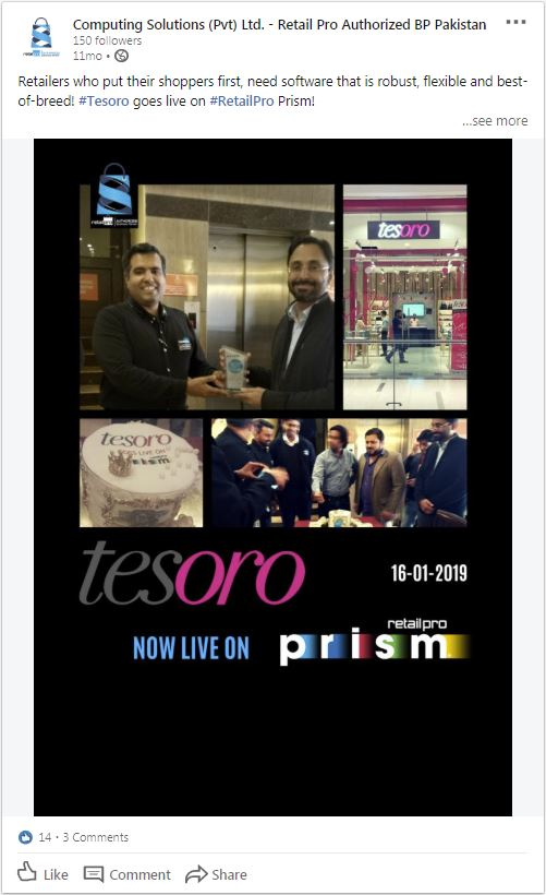 Computing Solutions shares Tesoro's experience with Retail Pro Prism