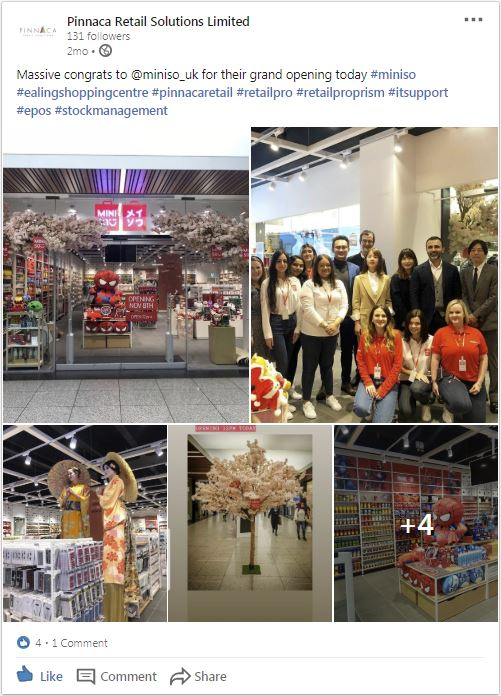 Pinnaca Retail Solutions shares Miniso's experience with Retail Pro Prism