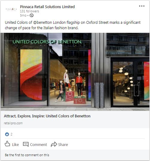 United Colors of Benetton Spotlight