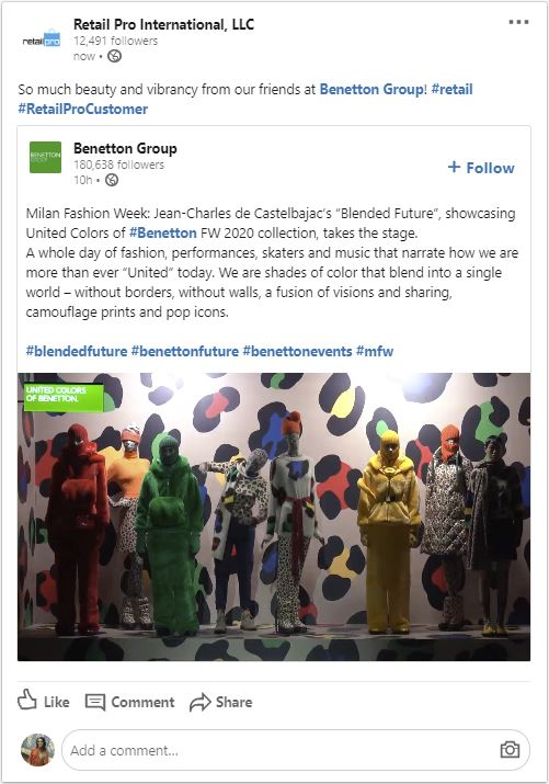Benetton Group Spotlight