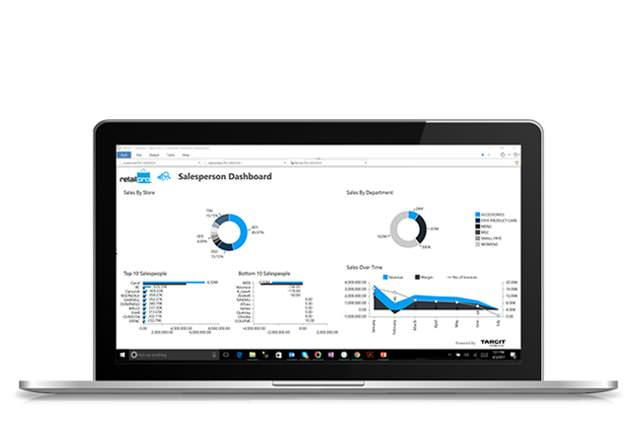 New: Retail Pro Decisions BI and analytics dashboards add-on for Retail Pro