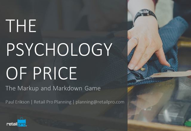 Psychology of Price: The Markup and Markdown Game