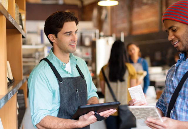 Using Retail Pro mobile POS to connect with customers on the sales floor