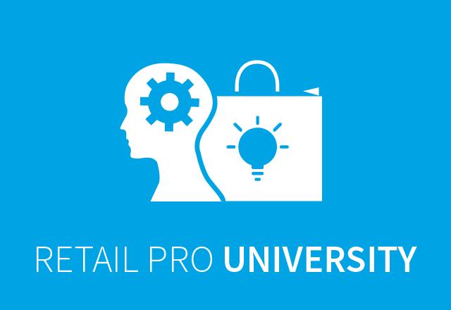 Need Retail Pro training? You've got options!