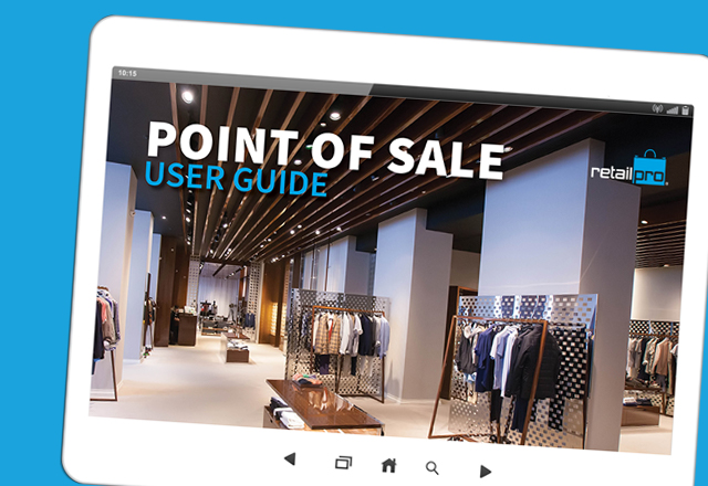 Custom Retail Pro user guides for your team
