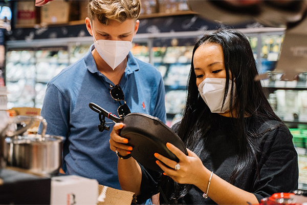 Post pandemic, big retailers think small
